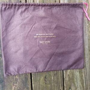 KATE SPADE bag duster